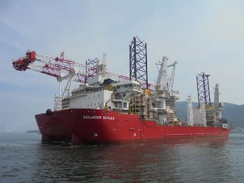 DONG award Seajacks Walney Extension
