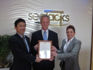 Occupational Health and Safety Award for Seajacks
