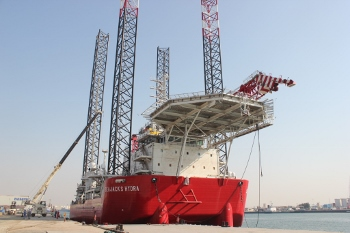 Seajacks Hydra Delivered Ahead Of Schedule