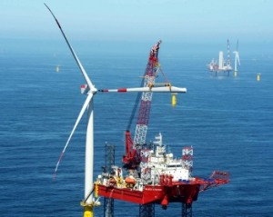 Seajacks completes construction on Meerwind Offshore Wind Park