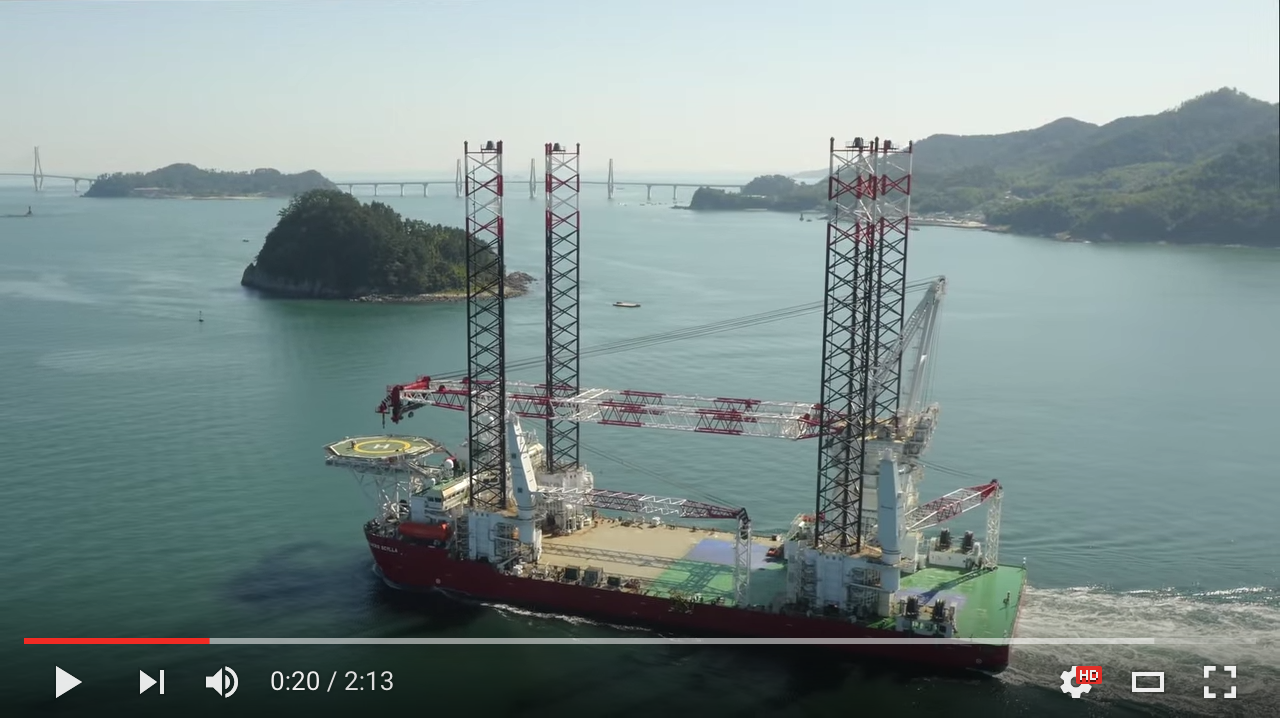 seajacks scylla sea trials video image link