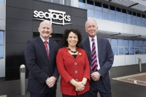 Seajacks UK Hosts Shadow Energy Minister