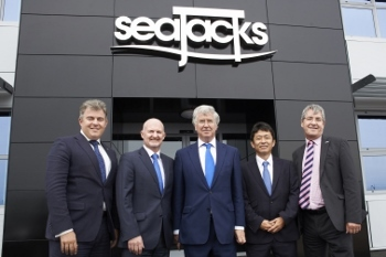 Seajacks Hosts Energy Minister For Roundtable Discussions On Energy In East Anglia