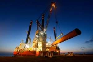 Seajacks Zaratan installs 3 monopiles in just 36 hours