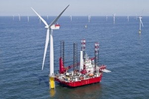 Turbine installation complete at Sheringham Shoal
