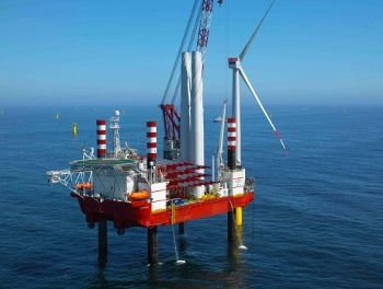 Seajacks Zaratan Installs Final Turbine At Meerwind Offshore Wind Park